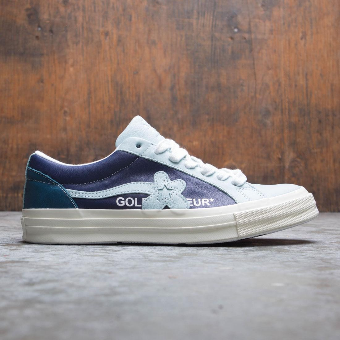 f0f5c7115ff45e Converse X Golf Le Fleur Men One Star Ox Blue Barely Blue Patriot