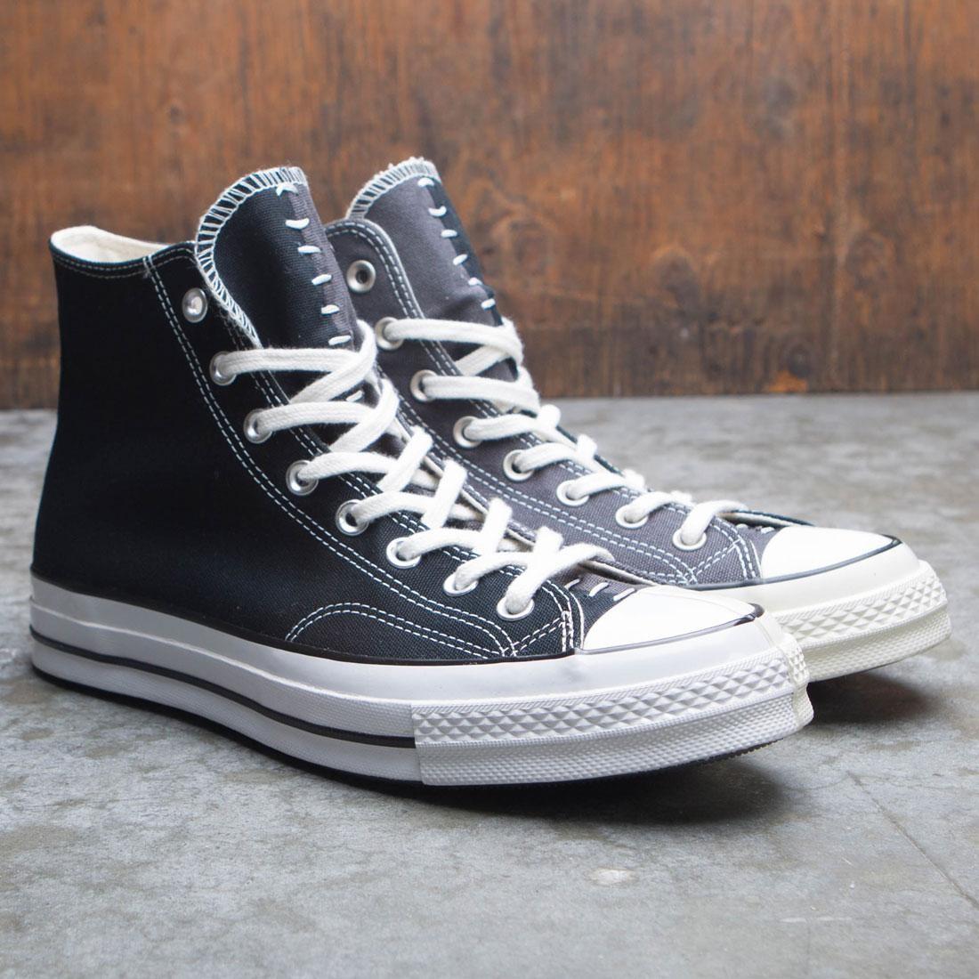 Converse Men Chuck 70 Hi (black / almost black / egret)