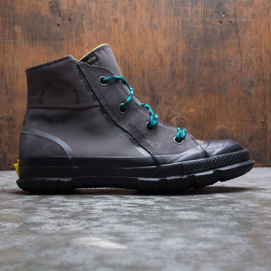 Converse Men Chuck Taylor MC18 Hi (gray / carbon grey / turbo green / black)