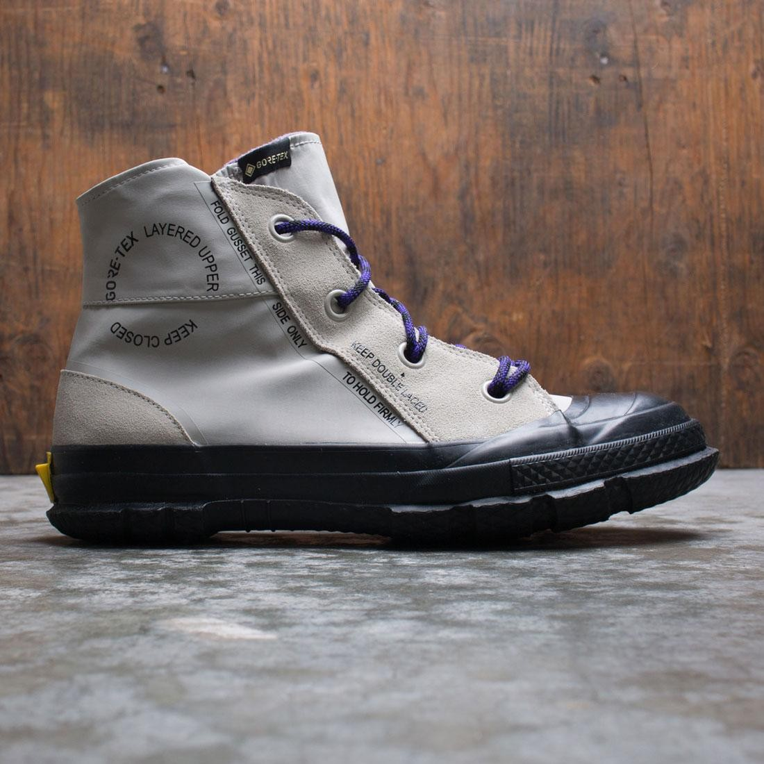 Converse Men Chuck Taylor MC18 Hi (beige / birch bark / grand purple / black)