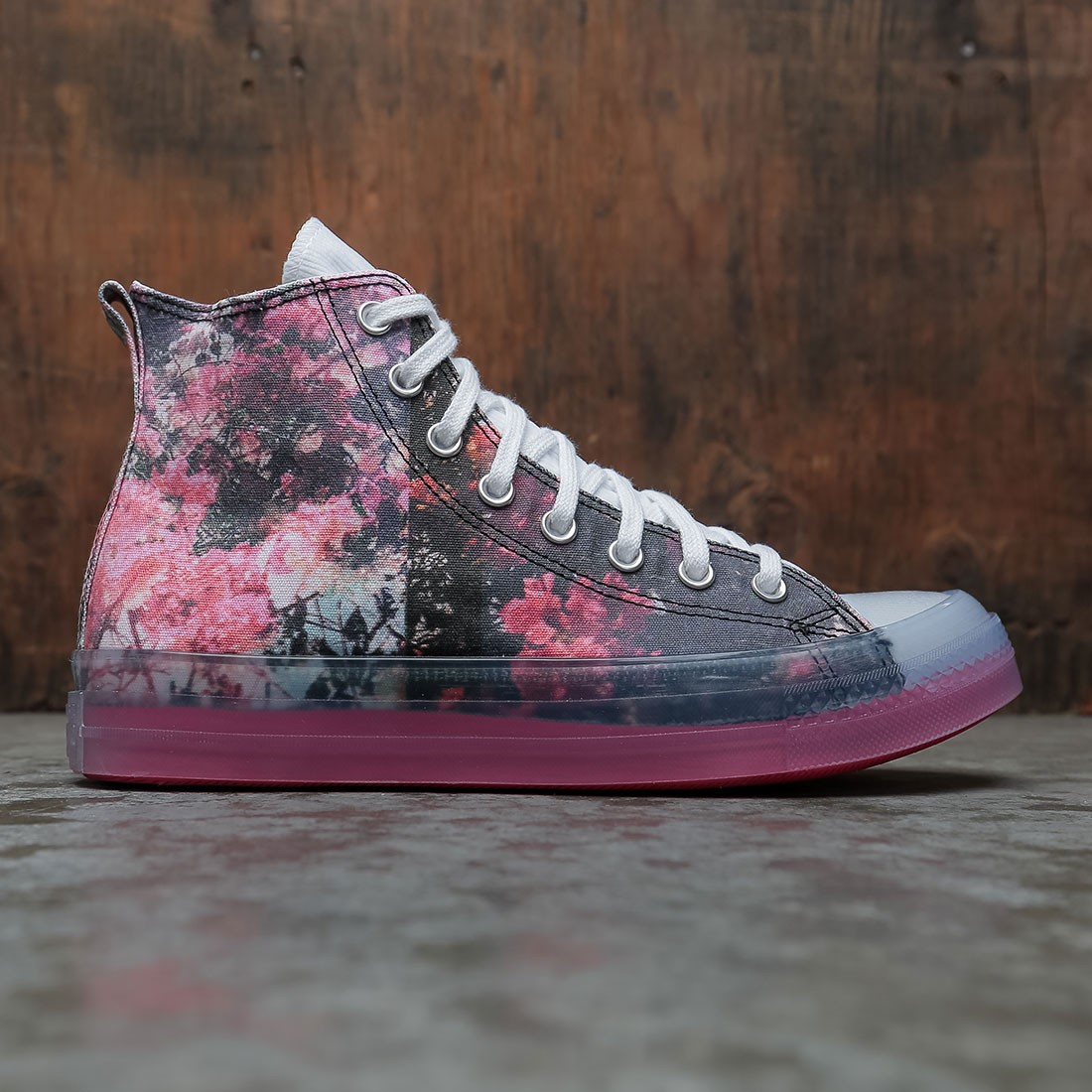 Converse x Shaniqwa Jarvis Men Chuck Taylor All Star Hi (pink / teaberry pink / white / black)