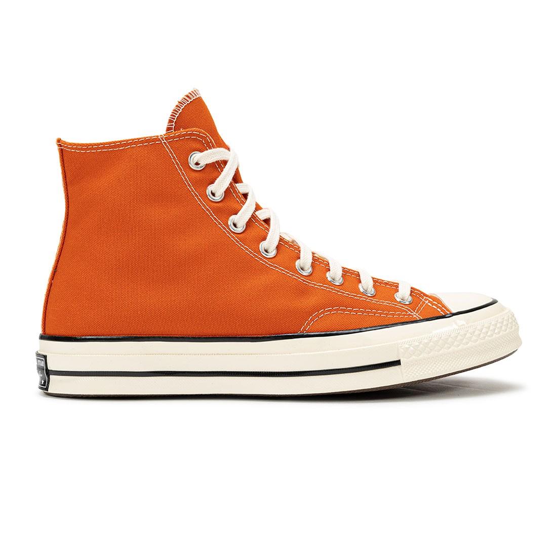 Converse Men Chuck 70 Hi Color Vintage Canvas (orange / fire pit / egret / black)