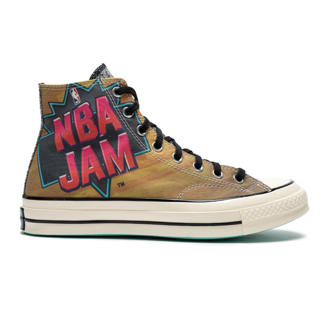 Converse Men Chuck 70 Hi NBA Jam (brown / solar red / electric aqua)