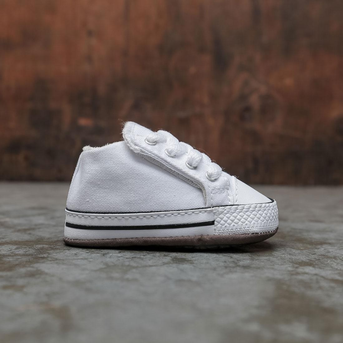 Converse Infants Chuck Taylor All Star Cribster Mid (white / natural ivory)
