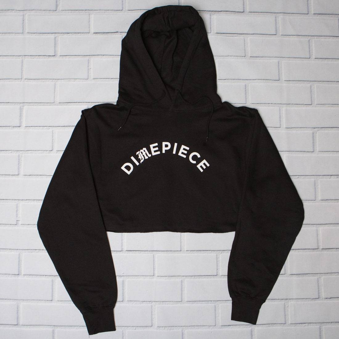 Dimepiece Women Old English Hoody - BAIT Exclusive (black)