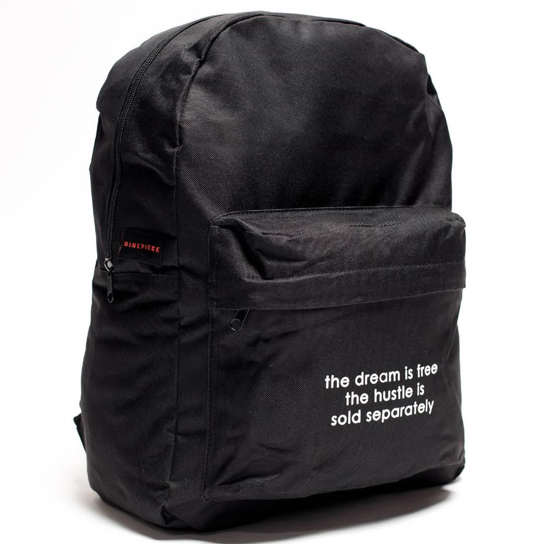 Dimepiece Hustle Is Not Free Backpack (black)