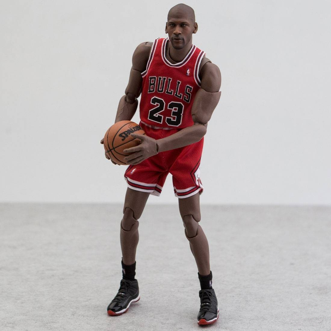 timeless design a4c25 9d051 NBA x Enterbay Michael Jordan 1/9 Scale 9 Inch Figure (red)