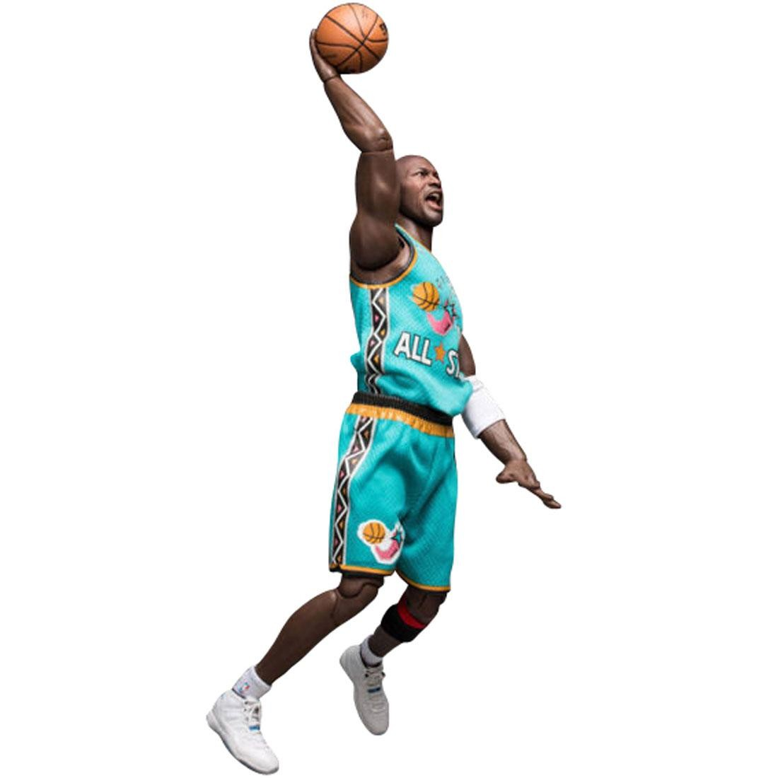 NBA x Enterbay Michael Jordan 1996 All Star Game 1 6 Scale 12 Inch Figure  teal 2c0148a48