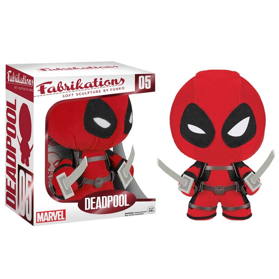 Funko Fabrikations Marvel Deadpool Plush red