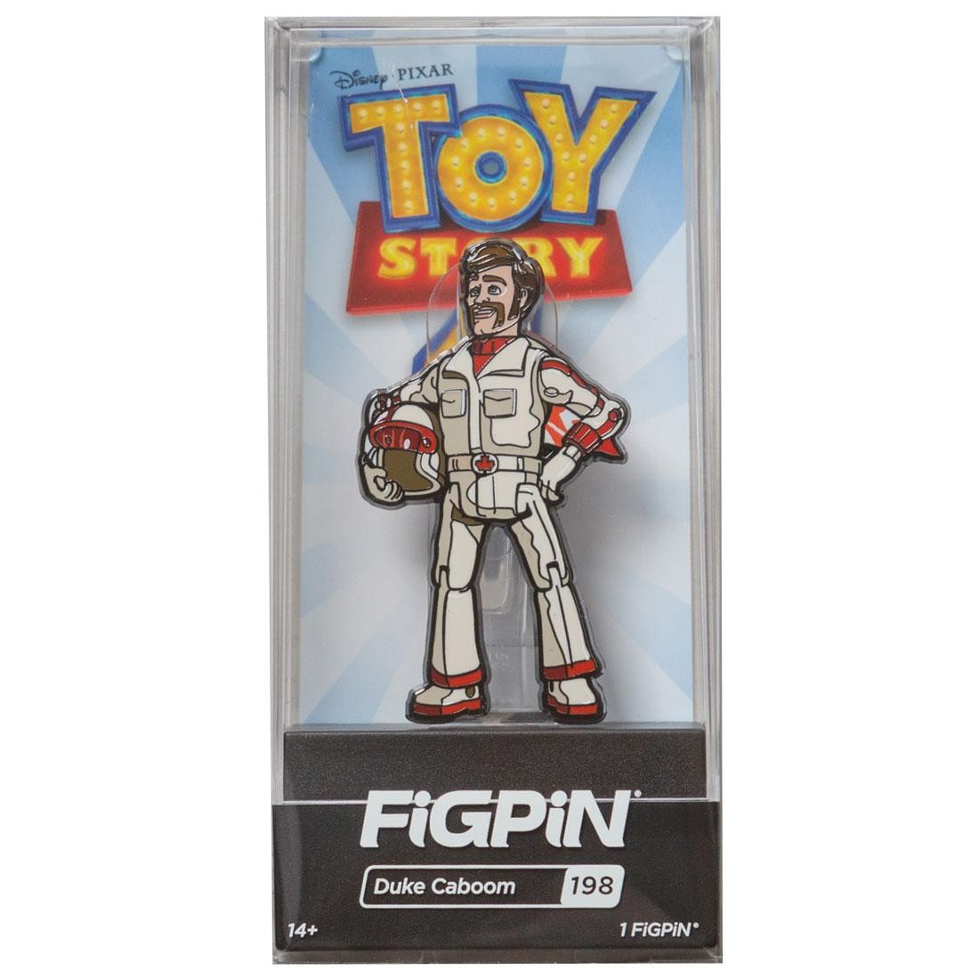 FiGPiN Toy Story 4 Duke Caboom #198 (white)
