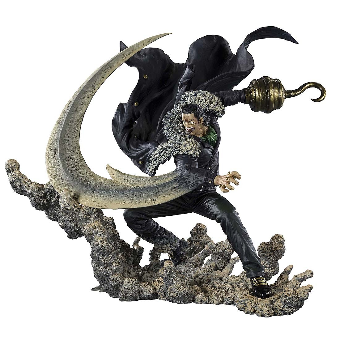 PREORDER - Bandai Figuarts Zero One Piece Extra Battle Sir Crocodile Paramount War Figure (black)