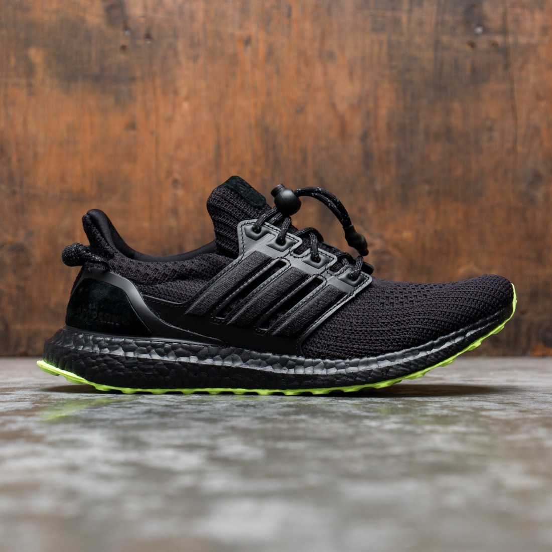 Adidas x Ivy Park Men UltraBOOST OG (black / core black / hi-res yellow)