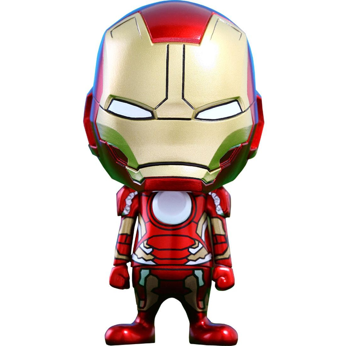 Hot Toys Iron Man Mark XLIII Avengers Age of Ultron Cosbaby Series 1 4 inches Vinyl Figure (red)