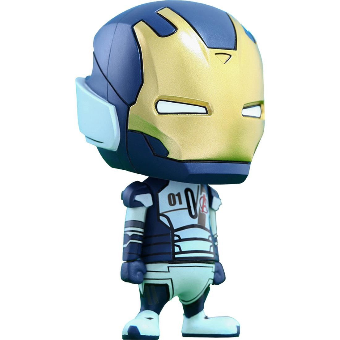 Hot Toys Iron Legion Avengers Age of Ultron Cosbaby Series 1 4 inches Vinyl Figure (blue)