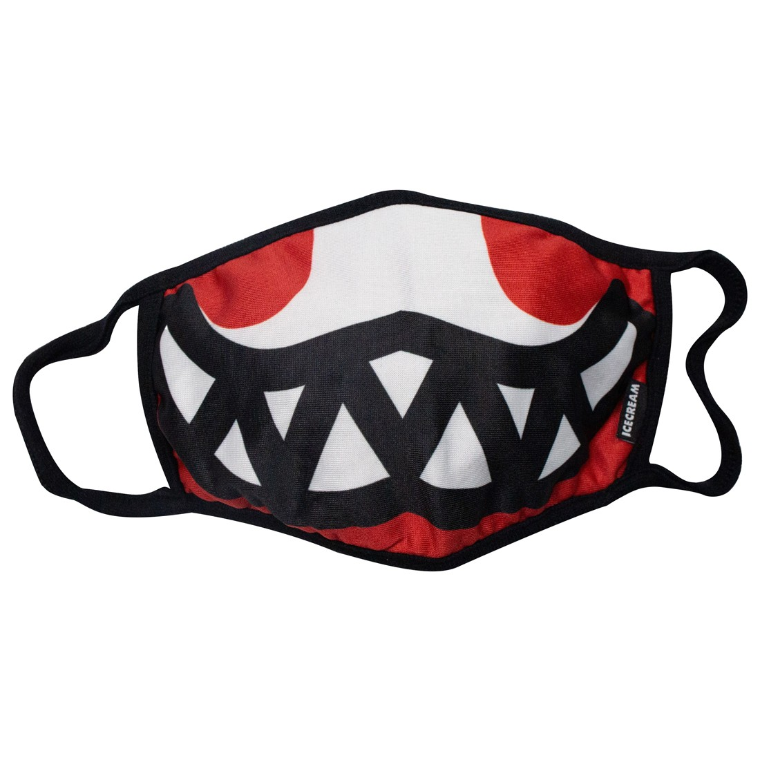 Ice Cream Grin Mask (red / tomato)