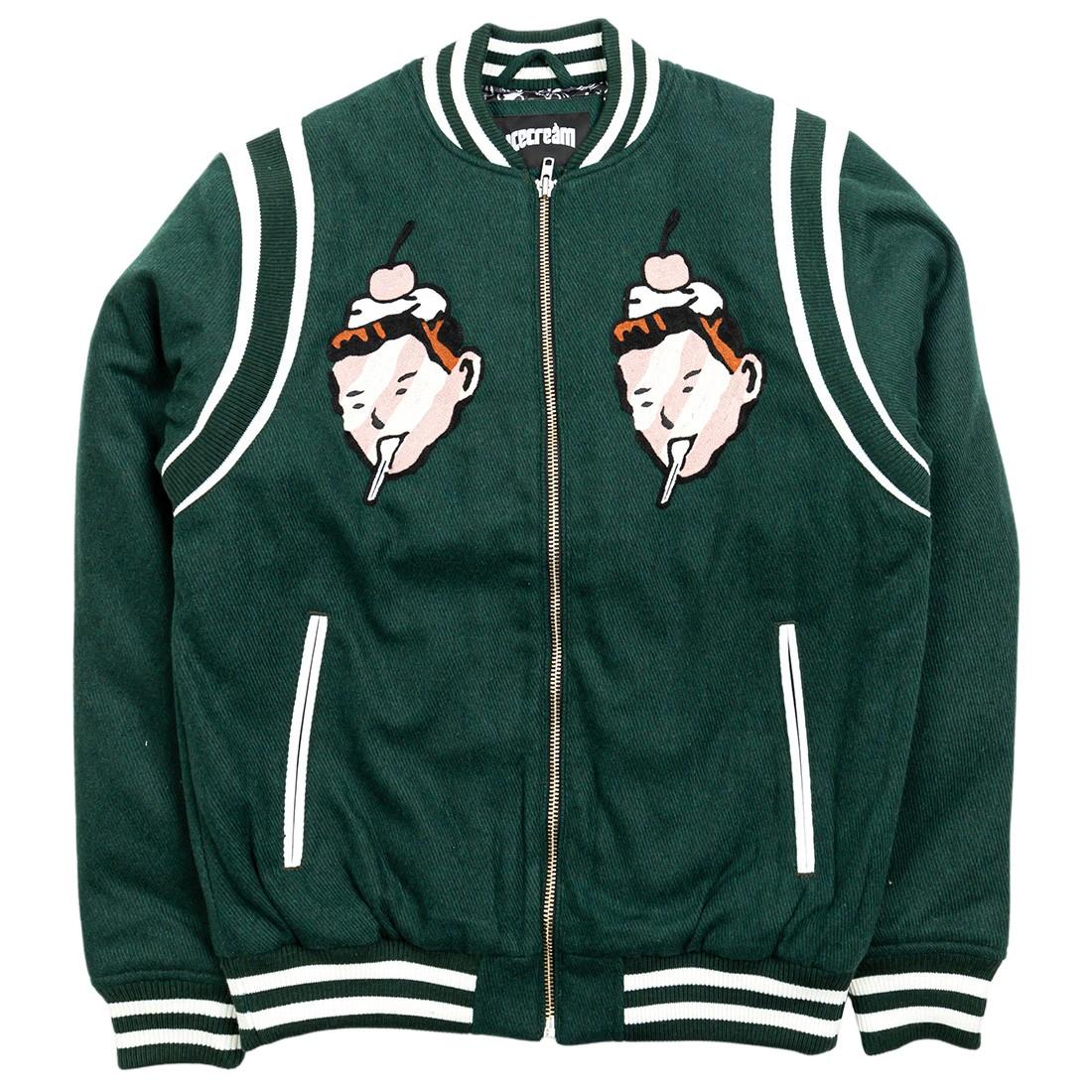 Ice Cream Men Faces Jacket (green)