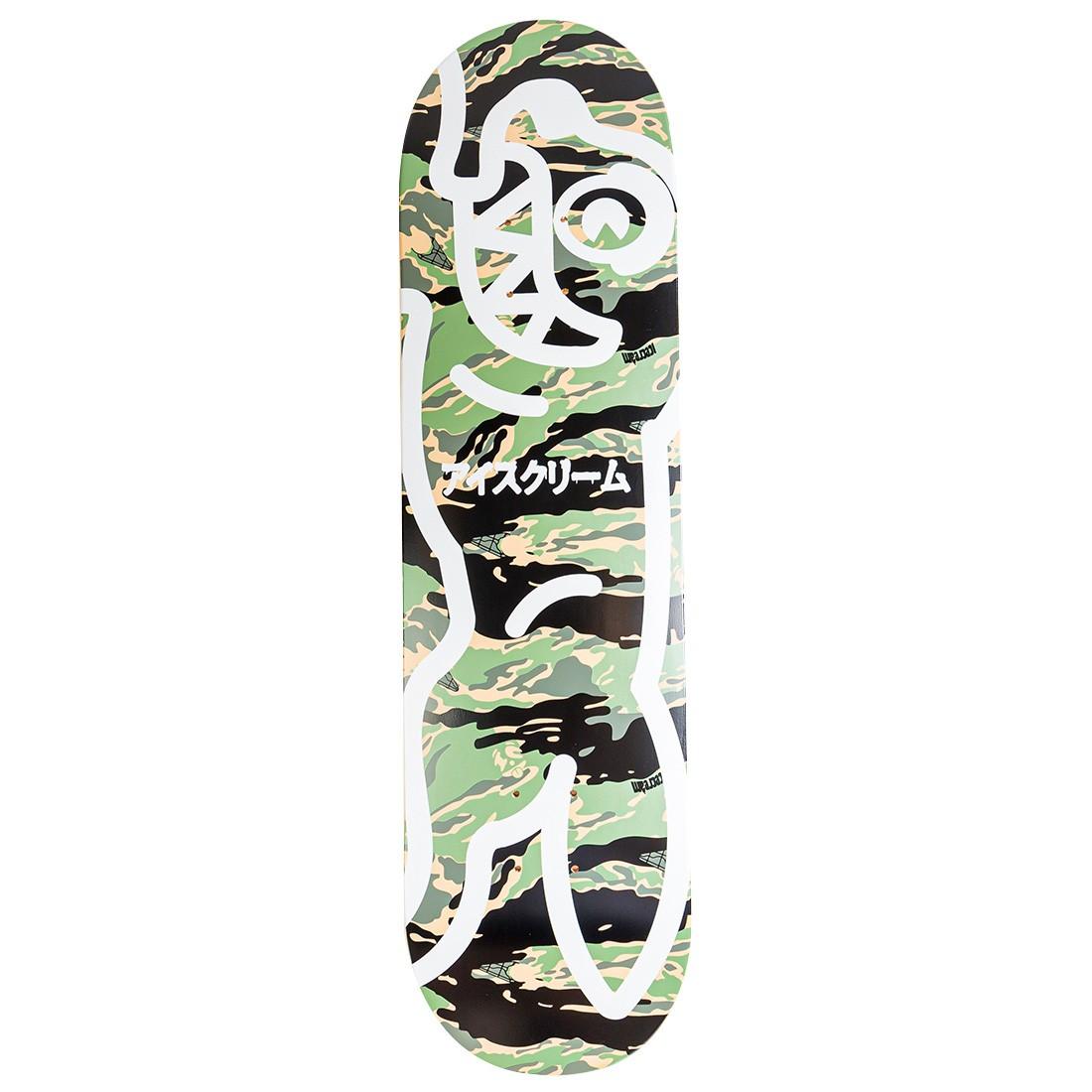 Ice Cream Stash Skateboard Deck (camo / black)