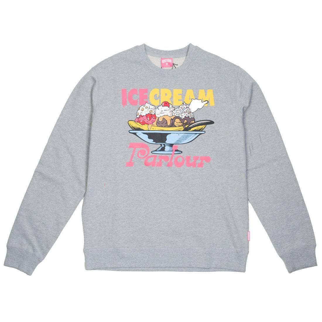 Ice Cream Men Moon Crew Sweater (gray / sweater)