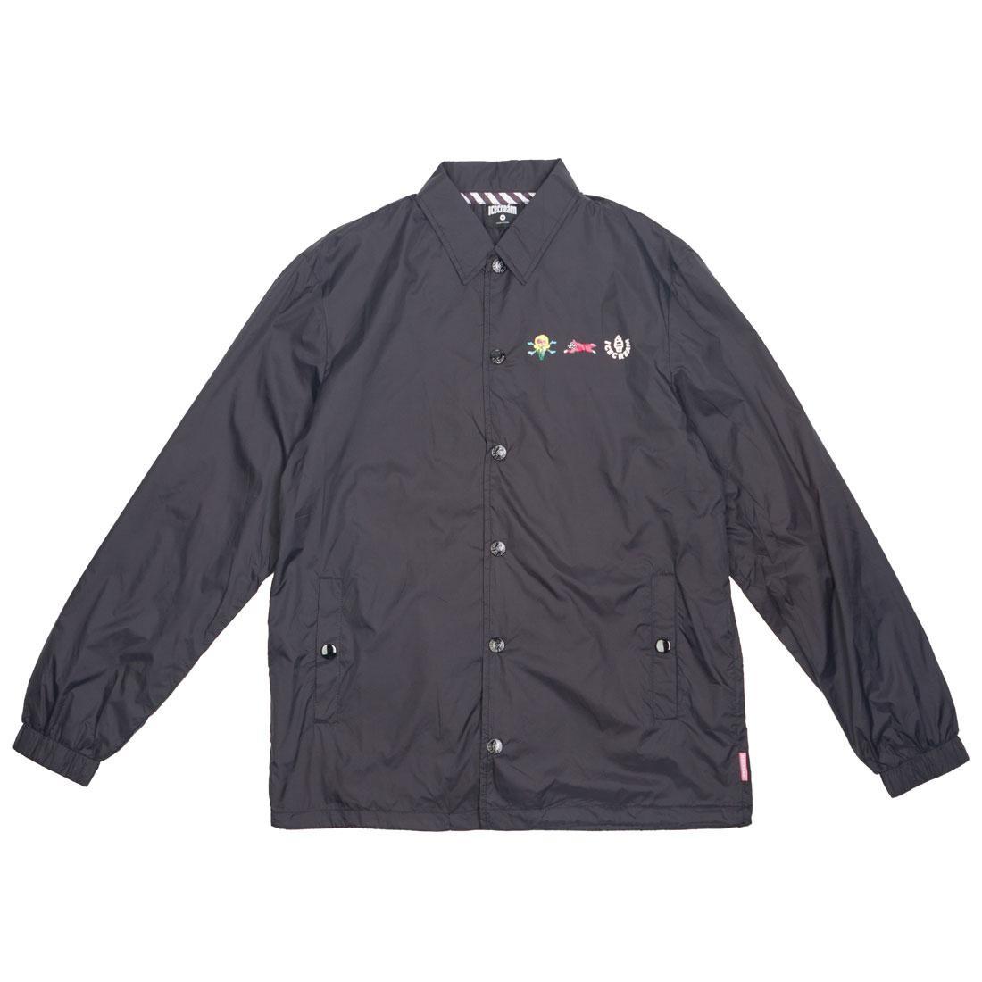 Ice Cream Men Coaches Jacket (black)