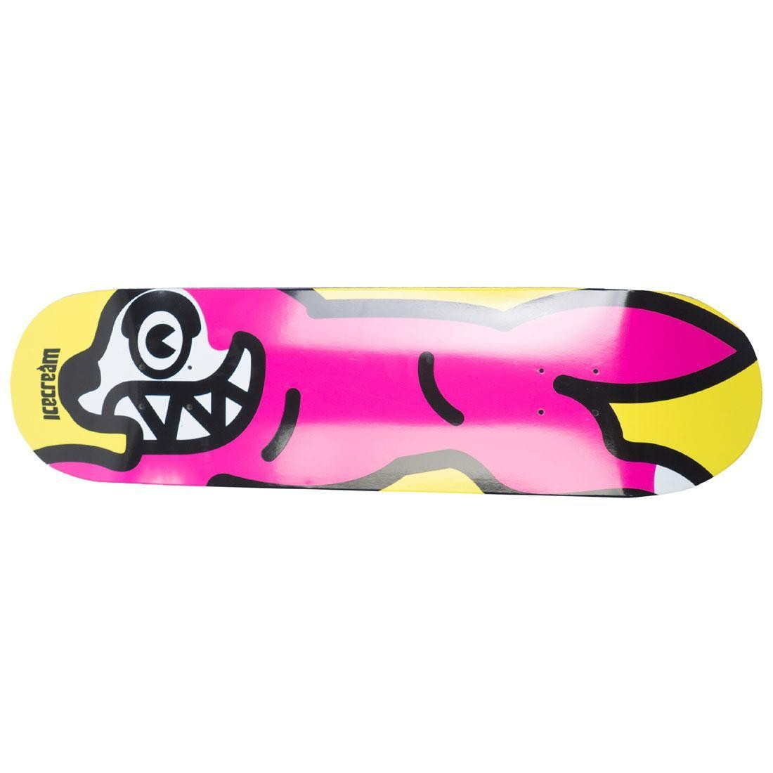 Ice Cream Brown Bread Skate Deck (yellow)