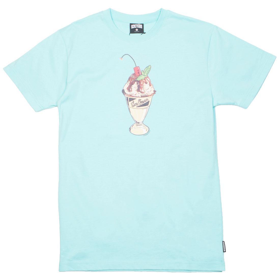Ice Cream Men Concrete Tee (blue / aruba)