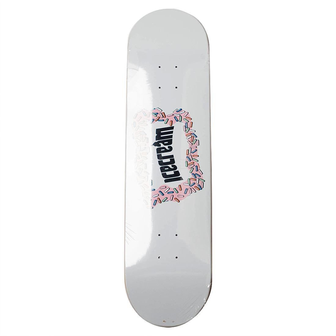 Ice Cream Frozen Skate Deck (white)