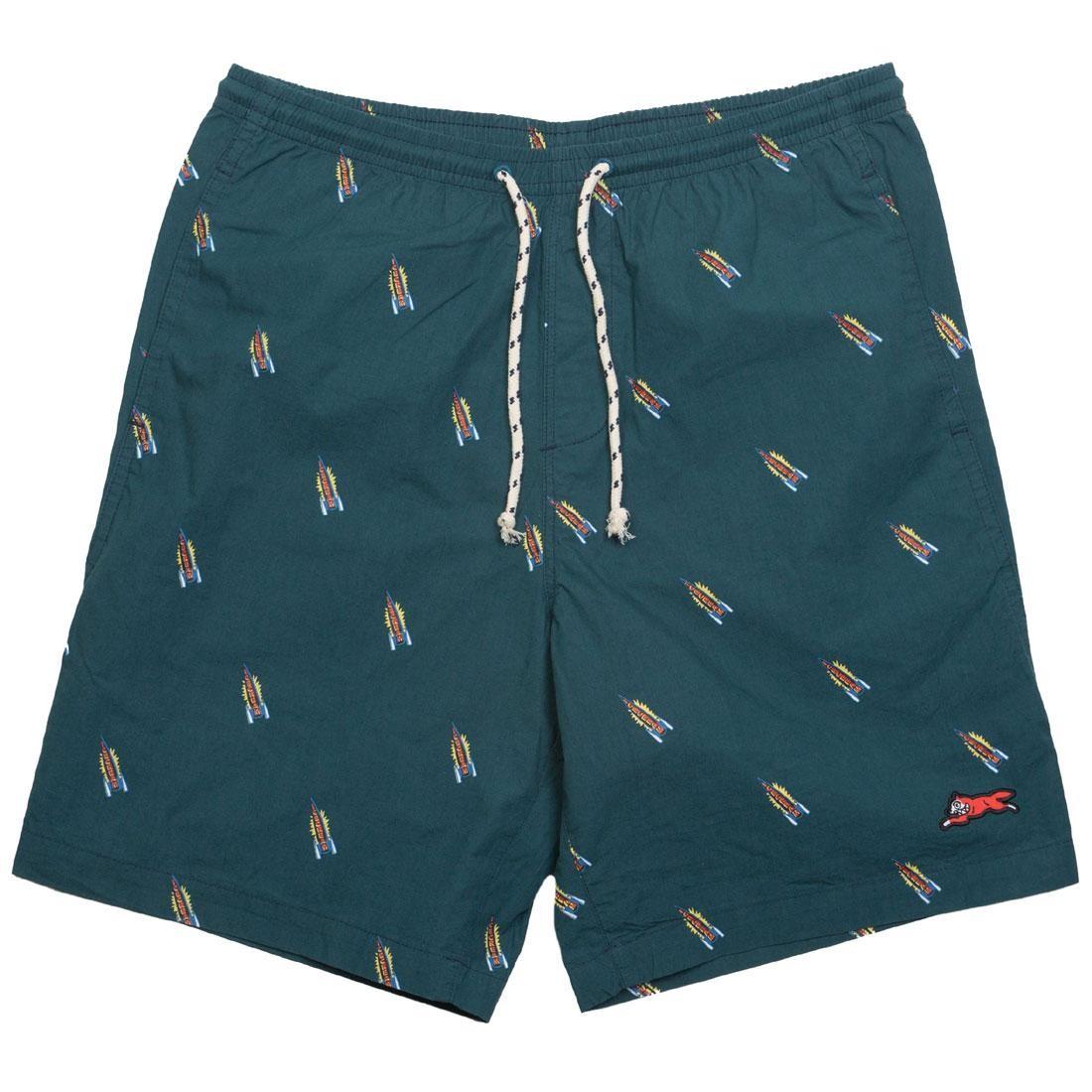Ice Cream Men Birch Shorts (green / deep teal)