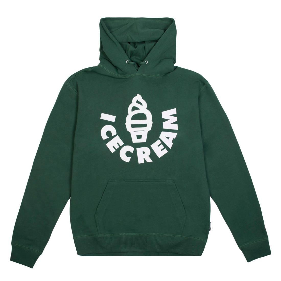 Ice Cream Men Cone Hoody (green)