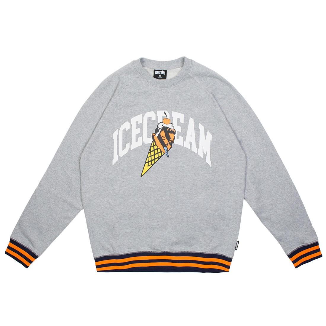 Ice Cream Men Snowbird Crew Sweater (gray)