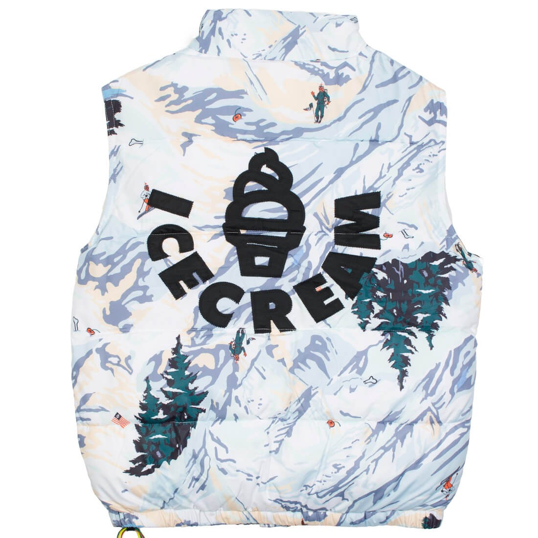Ice Cream Men North Star Vest (white)