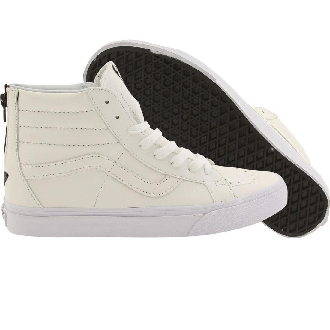 2ac598dcc6 Vans Men Sk8-Hi Reissue - Premium Leather white black
