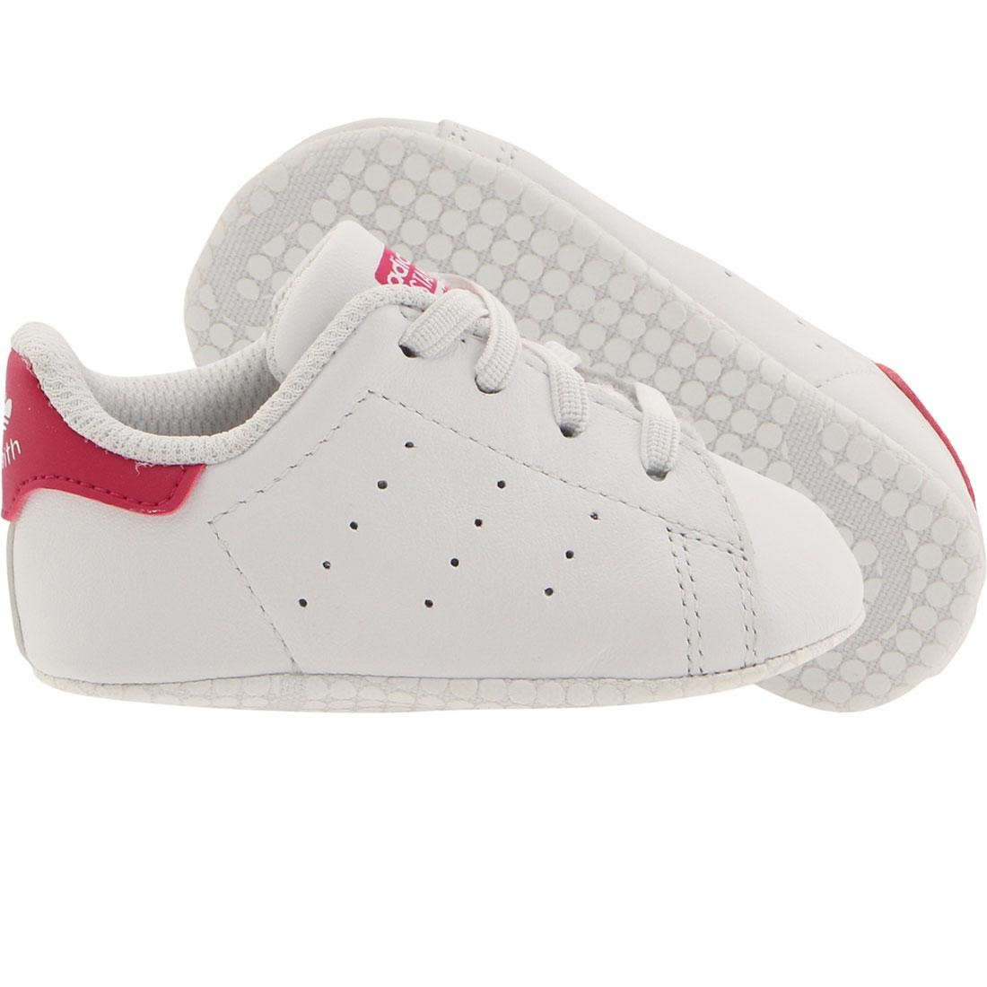 big sale 52662 25339 Adidas Toddlers Stan Smith (white / bold pink)