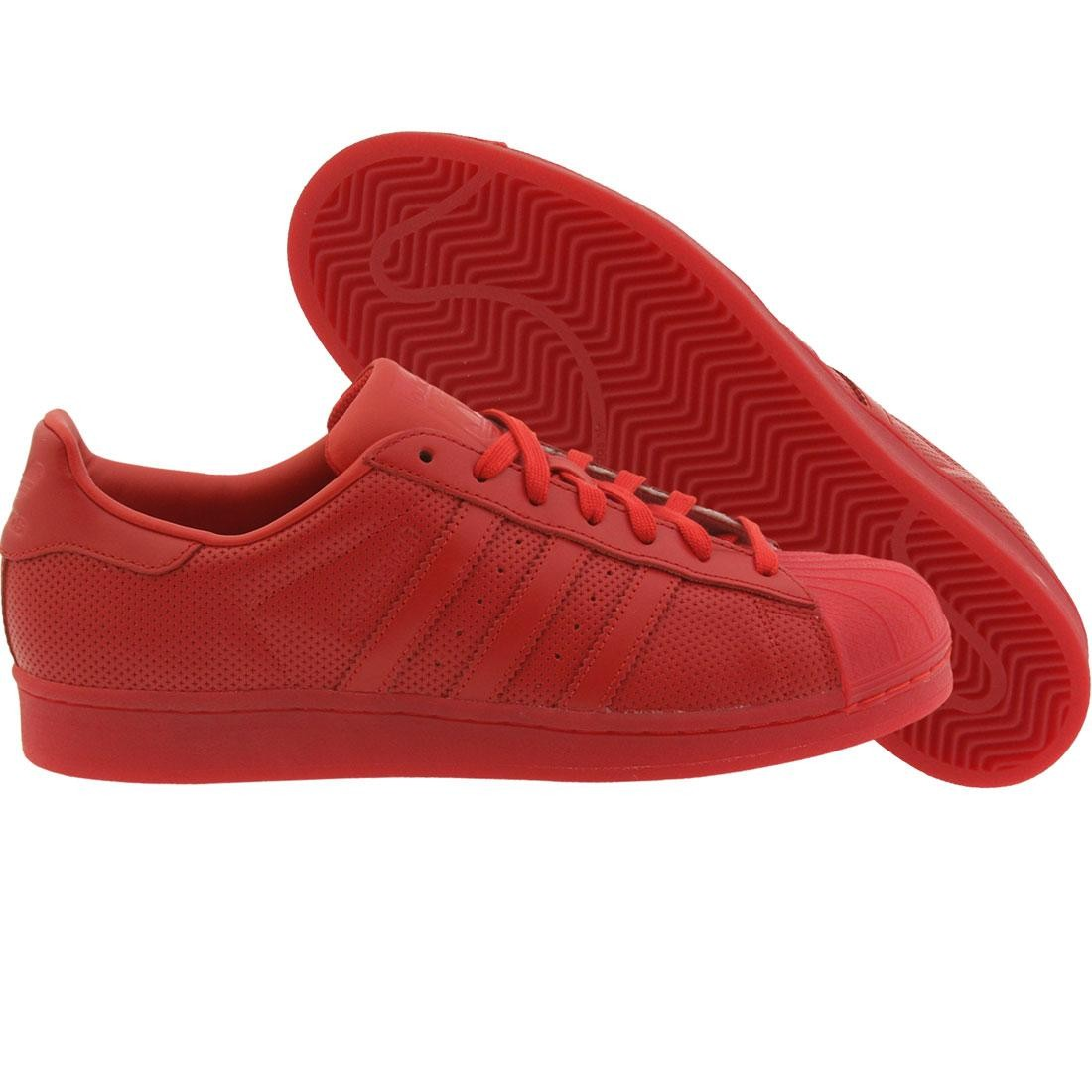 Adidas Men Superstar Adicolor (red scarlet)