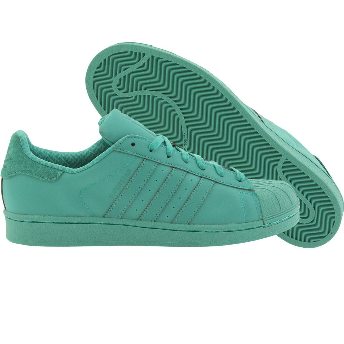 buy popular f0eb1 dcb8e Adidas Men Superstar Adicolor green shock mint
