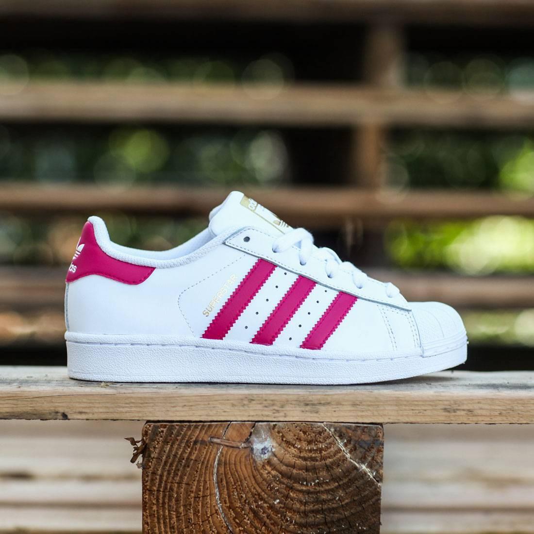 Top Deals Womens Adidas Superstar PinkWhite Metallic Gold AC7077