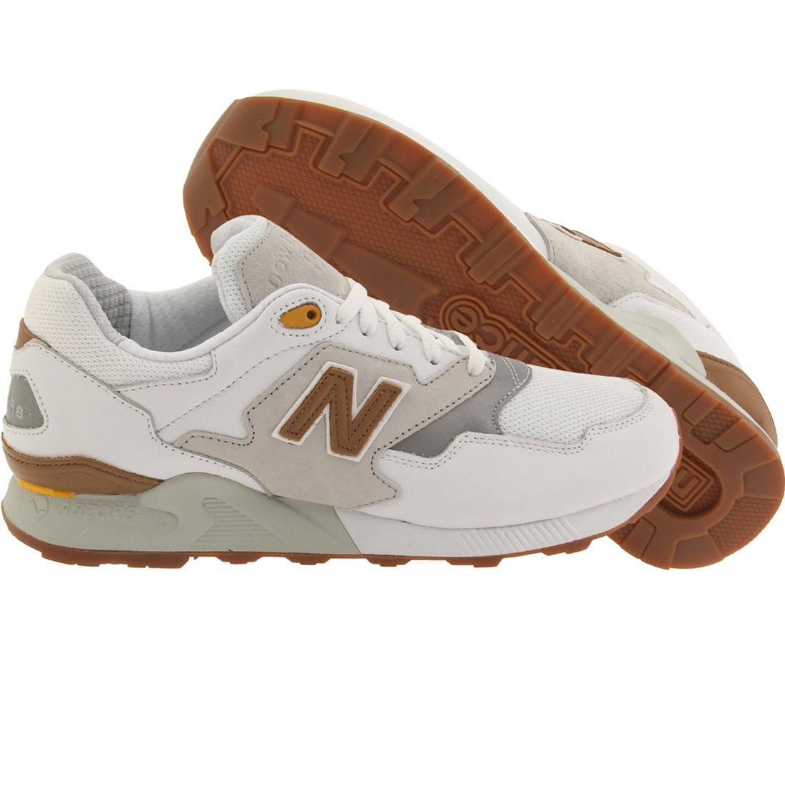 taille 40 ab861 45eed New Balance Men 878 90s Running ML878ATA (white / concrete)