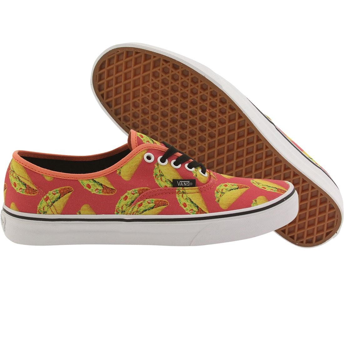 Vans Men Authentic - Late Night Tacos pink coral tacos 9fbd46a9c