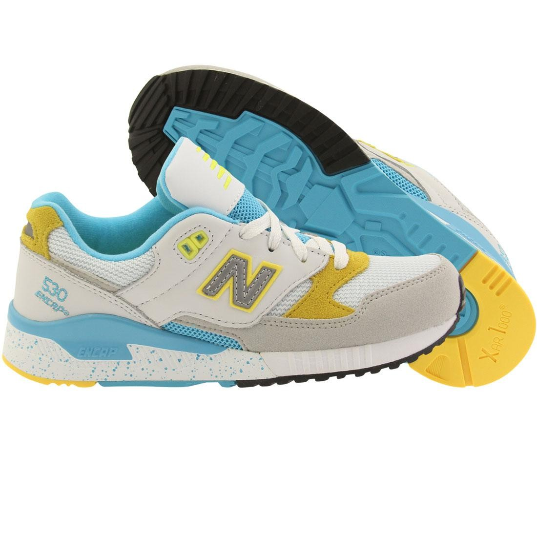 detailed look 5850c c4a6c New Balance Women 530 90s Running Leather W530PSB (gray / white / bayside)