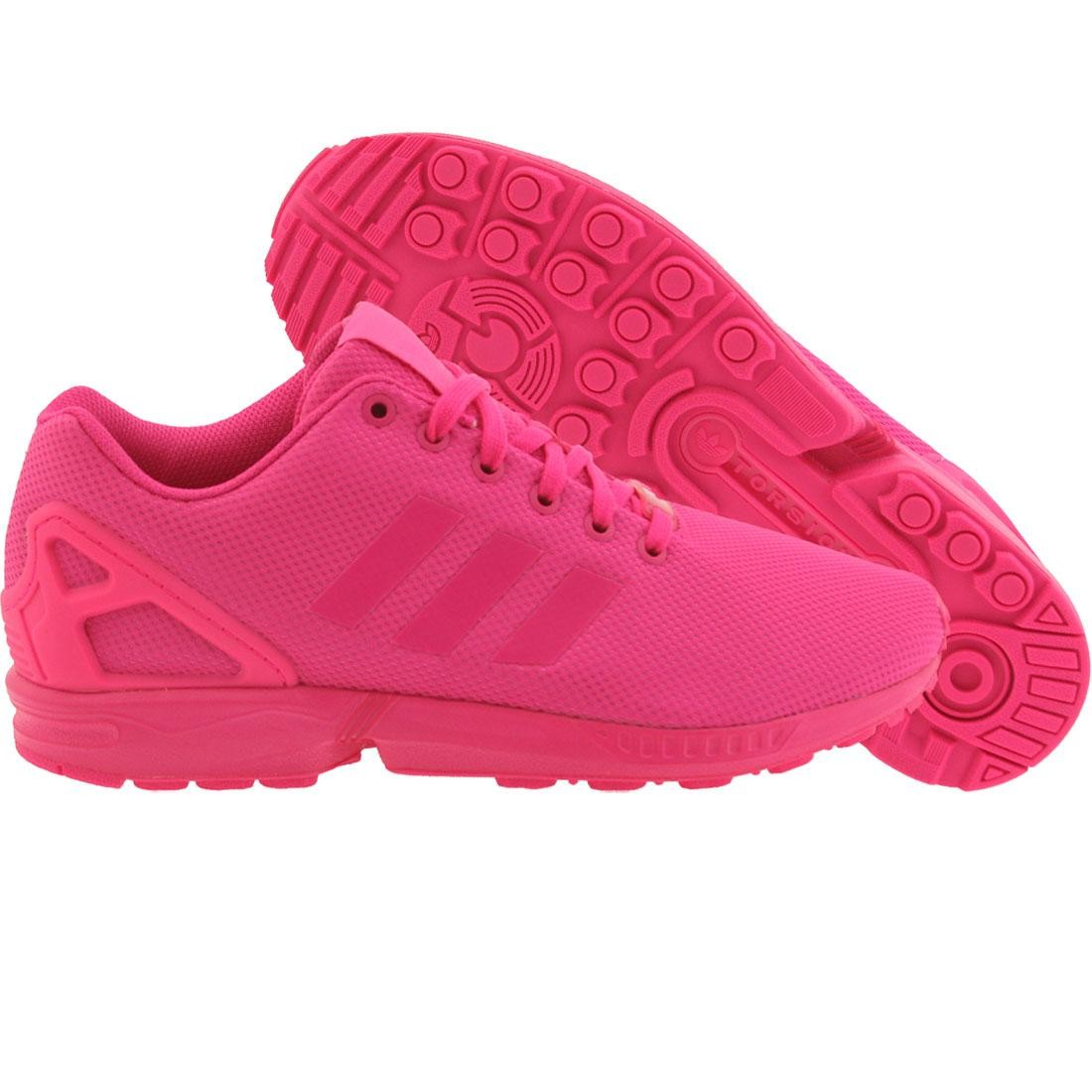 competitive price cb948 36c56 Adidas Men ZX Flux (pink / shock pink)