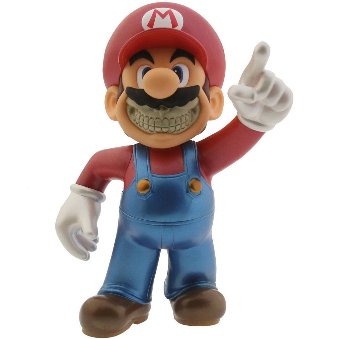 MINDstyle Collectormates Metallic Mario Grin by Ron English x Mario Maurer (red)