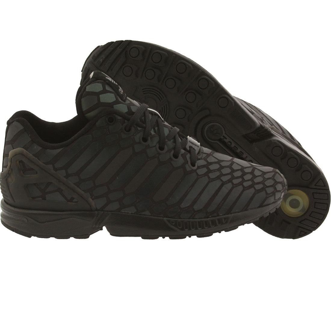 c44ab09b4938 Adidas Big Kids ZX Flux Xeno black supplier colour core black
