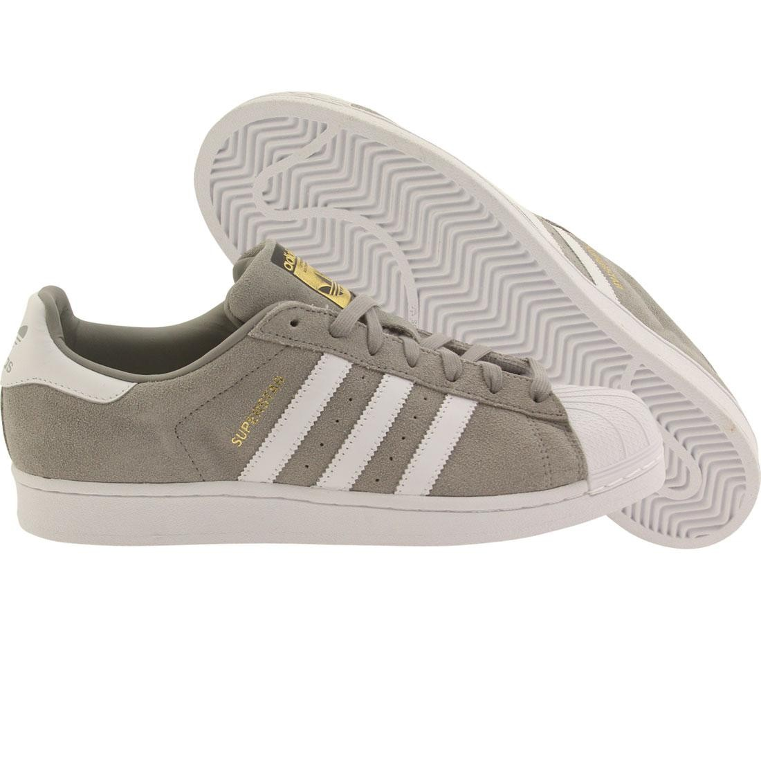 8760172cf7b454 Adidas Men Superstar Suede grey chsogr frtwwht