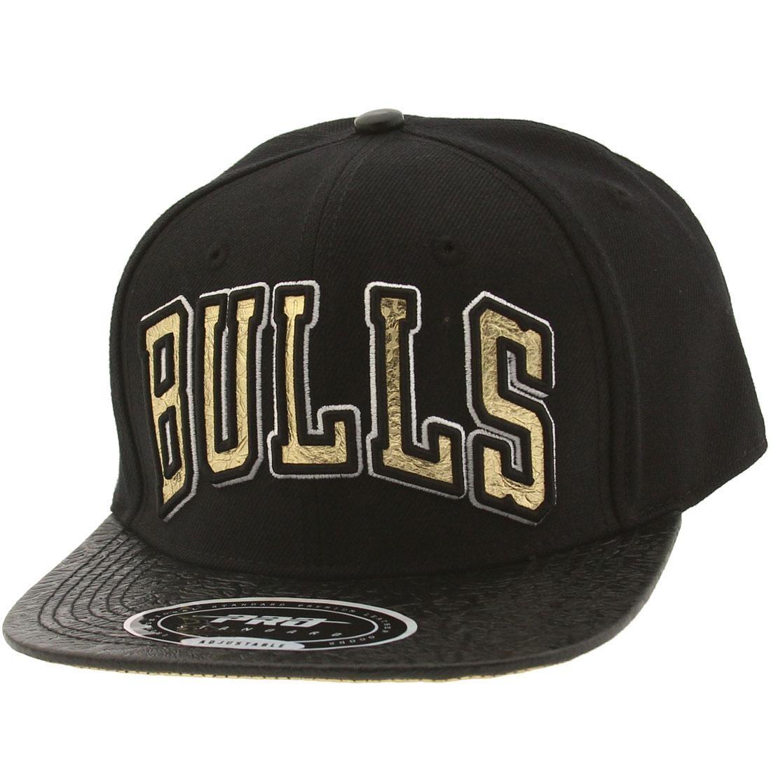 Pro Standard NBA Chicago Bulls Jersey Adjustable Cap (black)