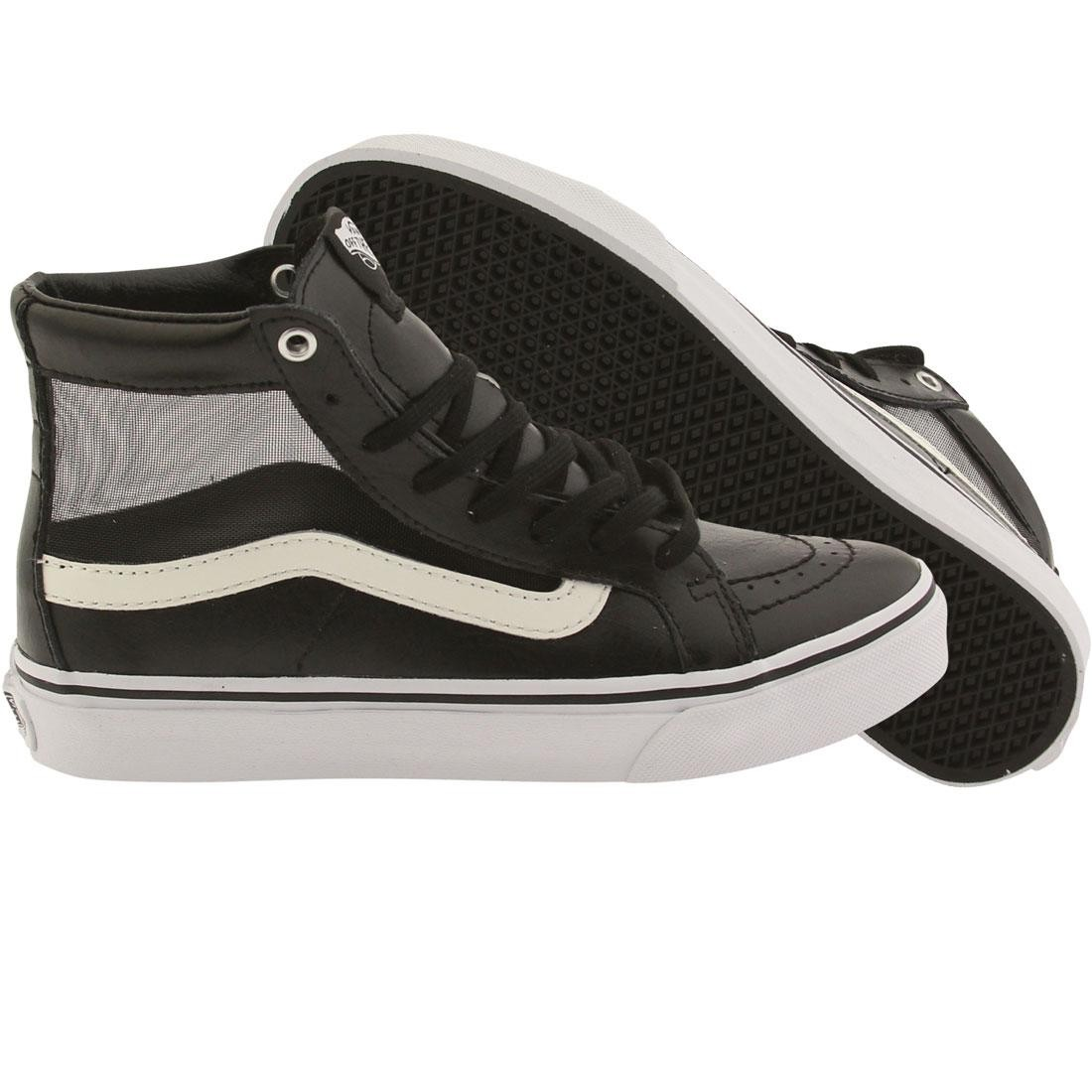 0e259058e068 Vans Women SK8-Hi Slim Cutout - Mesh black white
