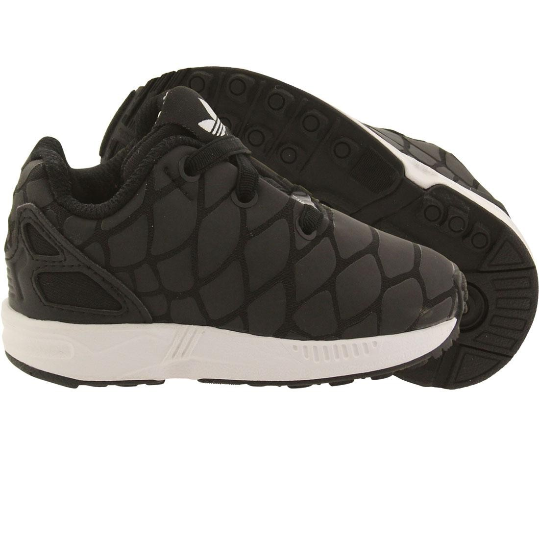 promo code a70e5 1b29c Adidas Toddlers ZX Flux Xenopeltis (black / core black / running white)