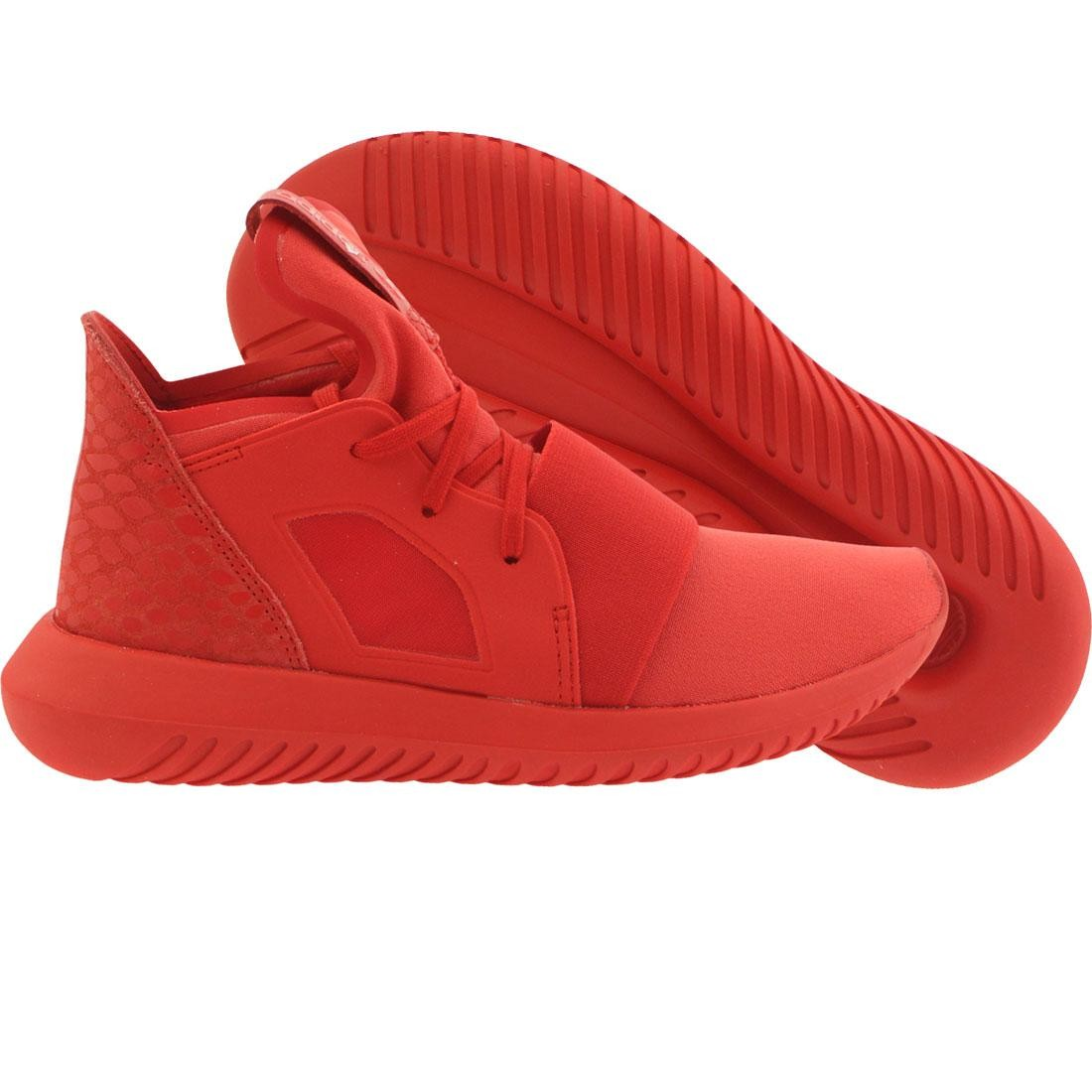 Adidas Women Tubular Defiant (red lush red running white)