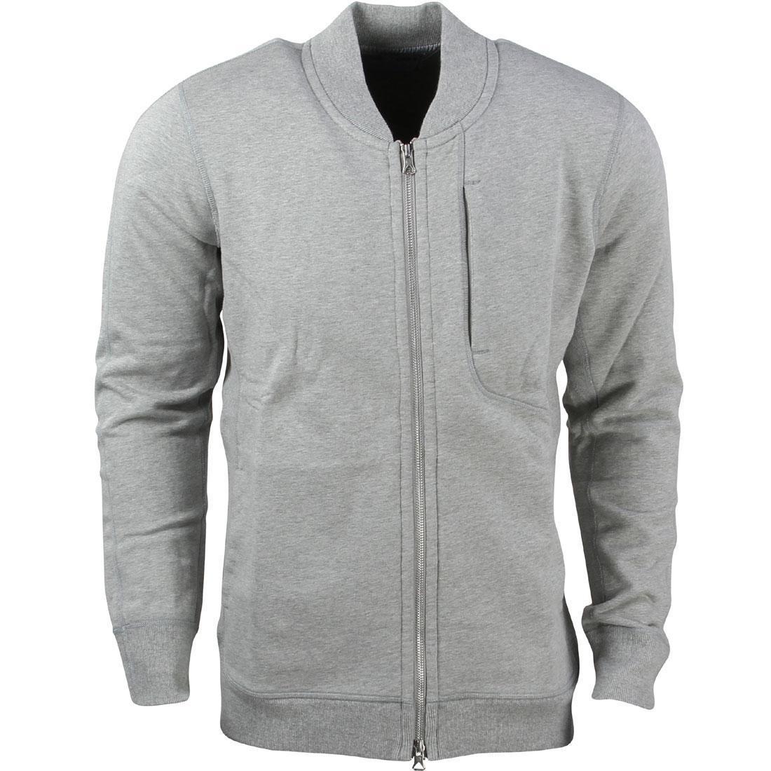 Asics Tiger x Reigning Champ Men Bomber Jacket grey heather grey 25694a68283c