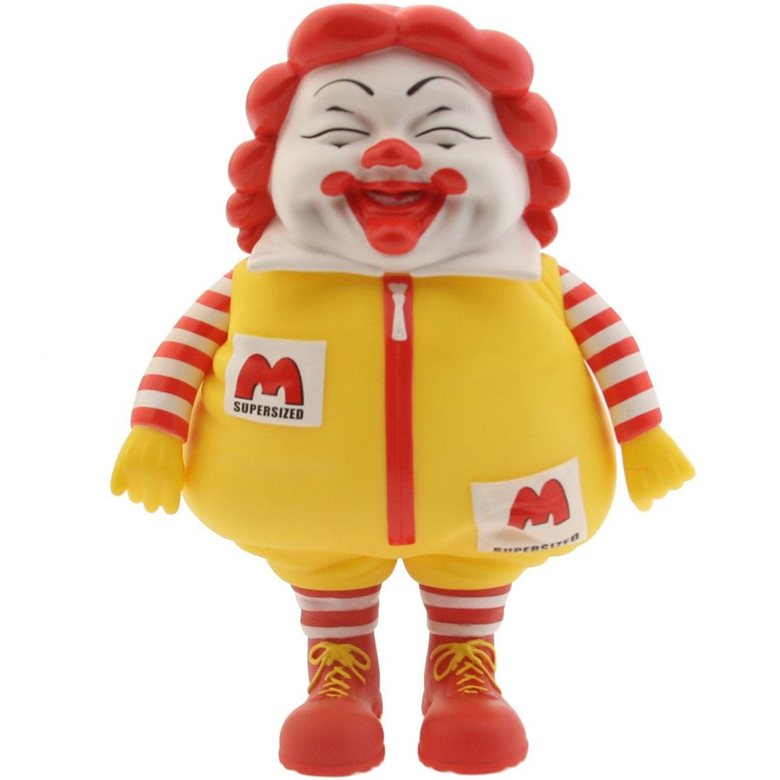 MINDstyle Collectormates McSupersized Figure by Ron English Popaganda - SDCC (red / yellow)