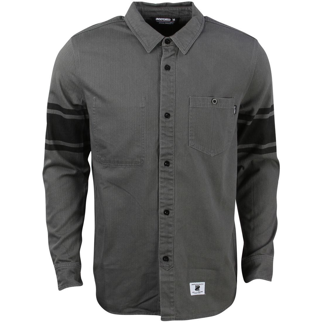 Undefeated Men Lineman Long Sleeve Shirt (gray / heather)