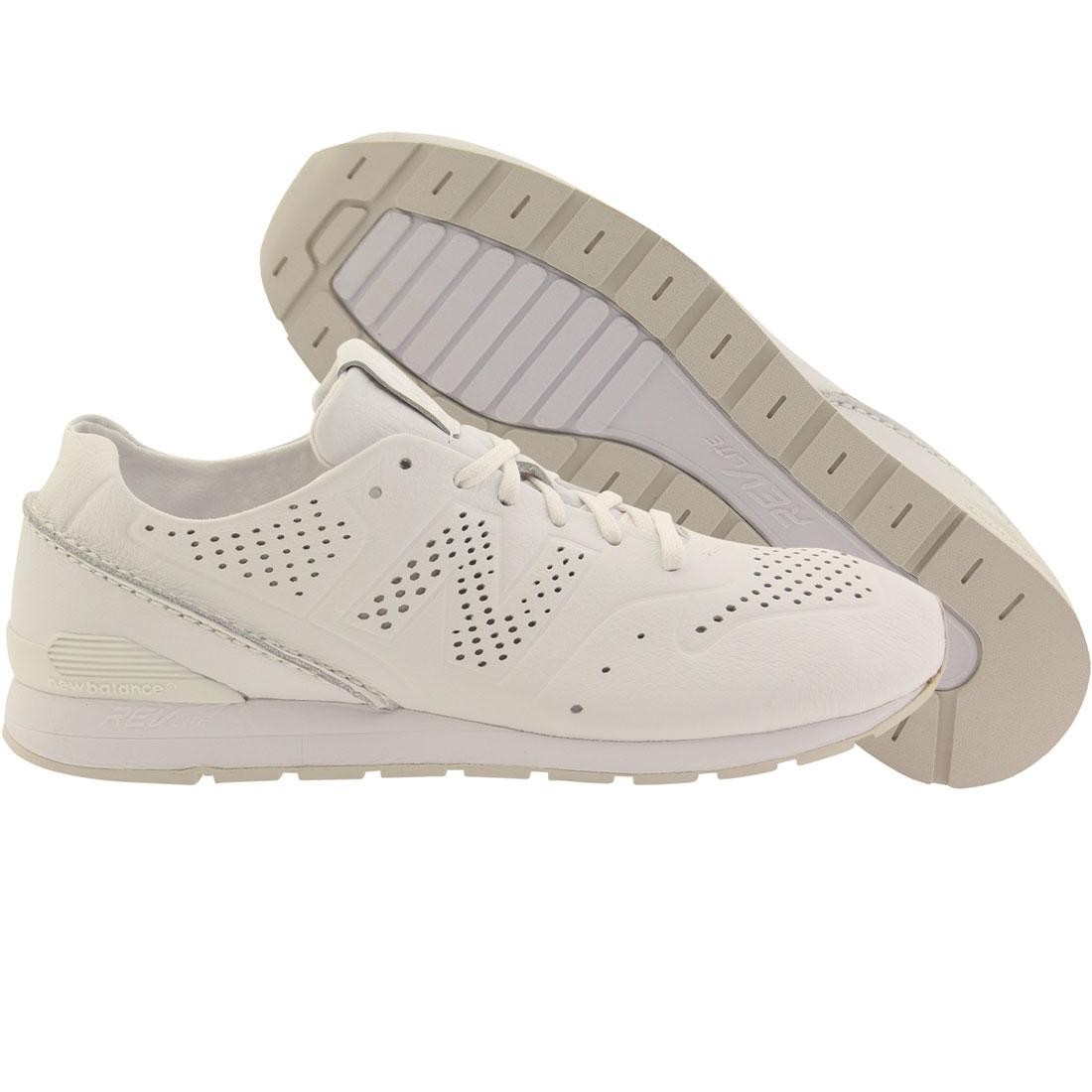 40153051eb25 New Balance Men 696 Deconstructed Leather MRL696DT white